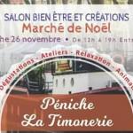 <b>Aujourd&#039;hui, le salon bien-être et créations vous propose des idées cadeaux... sur une péniche ...</b>