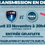 <b>Retransmission de Montpellier – Fenix en direct du Palais des Sports</b>