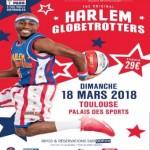 <b>Les Harlem Globetrotters le 18 mars 2018 à Toulouse</b>