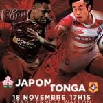 <b>Test Match : Japon – Tonga, ce samedi à Toulouse</b>