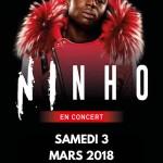 <b>Le rappeur Ninho en concert à Toulouse en 2018</b>