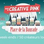 <b>Et place de la Daurade, 50 créateurs locaux au marché de Noël Creative Pink :  http://bit.ly/2ACTMhr...</b>