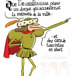 <b>#LeBQE Pourquoi un donjon se dresse-t-il derrière le #Capitole ? #Toulouse Cc @VisitezToulouse  http...</b>
