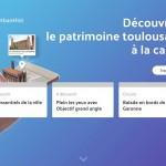 <b>(Re)découvrez le #patrimoine à la carte avec @UrbanHist_Tlse  https://www.urban-hist.toulouse.fr/pi...</b>