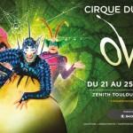 <b>Le Cirque du Soleil revient avec Ovo en novembre 2018 à Toulouse</b>