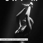 <b>Shy'm en concert à Toulouse en 2018</b>