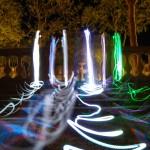 <b>Démonstrations de Light Painting</b>