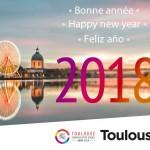 <b>A notre tour de vous souhaiter une très bonne année 2018 depuis #Toulouse !  En 2018, #visiteztoulou...</b>