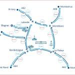 <b>[08h30] Trafic dense dans les 2 sens de circulation. Soyez vigilants. #ToulousePeriph #InfoTraficpic...</b>