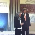 <b>Latifa Ibn Ziaten, candidate au prix Nobel de la paix</b>