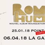 <b>Avec son nouvel album, Romain Humeau en concert à Toulouse</b>