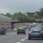 <b>Un accident spectaculaire sur l'A 64</b>