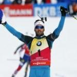 <b>Martin Fourcade au sommet de l'Olympe</b>