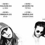 <b>Chilla, Lord Esperanza et Semano pour un concert au Rex de Toulouse !</b>