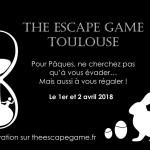 <b>Pâques : A l'escape game #toulouse cherchez à la fois les oeufs en chocolat et à vous évader !  http...</b>