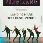 <b>Concours : Gagnez vos places pour Franz Ferdinand au Zénith de Toulouse !</b>