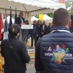 <b>C&#039;est animé, sur les stands de Montpellier au square De Gaulle #Toulouse ! #visiteztoulousepic....</b>