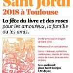 <b>Cet après-midi, c'est la Sant Jordi place St Georges : camp médiéval, livres, roses, jeux anciens en...</b>