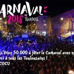 <b>50 000 personnes au Carnaval de Toulouse ! Merci à tous les Toulousains ! @Toulouse @VisitezToulouse...</b>
