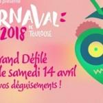 <b>Le Grand Défilé du Carnaval de Toulouse ce samedi 14 avril !</b>