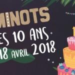 <b>Cinéminots fête ses 10 ans en avril 2018</b>