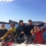 <b>Course Croisière EDHEC : Les étudiants de l'ENAC passent du ciel à la mer</b>