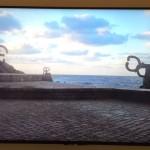 <b>Eduardo Chillida, le fantastique architecte du vide, le sculpteur devenu forgeron est au Musée les A...</b>