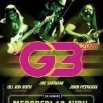 <b>Concours : Gagnez vos places pour Joe Satriani et G3 au Zénith de Toulouse !</b>