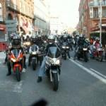 <b>Une nouvelle manifestation des motards contre la limitation de vitesse</b>