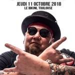<b>Popa Chubby en concert en octobre à Toulouse</b>