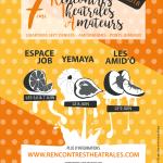 <b>7ème Edition des Rencontres Théâtrales Amateurs</b>
