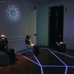 <b>La #TeamQDS en pleine plongée dans la #réalitévirtuelle de l&#039;expo #Sibyllium au Centre Culturel...</b>
