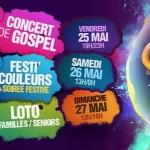 <b>Gospel, soirée festive… Festicouleurs, le festival de la mixité, a lieu ce week-end au Parc des Expo...</b>