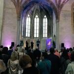 <b>Inauguration de l'exposition immersive «Chemins de Compostelle» au @CouventJacobins de @Toulouse. ...</b>