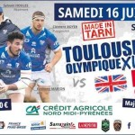 <b>Billetterie ouverte pour TO XIII – Leigh à Albi !</b>