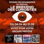 <b>Showcase du Weekend des Curiosités le 17 mai 2018 !</b>