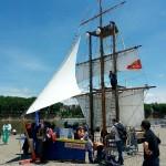 <b>La Marine en escale à #Toulouse ce week-end au port Viguerie #visiteztoulousepic.twitter.com/5YAqdRy...</b>