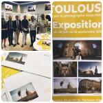 <b>Lancement des lots de Prêt-à-poster signés @hazekware avec @VisitezToulouse ! Exposition des photos ...</b>