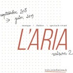 <b>Saison 2018/2019 : L'Aria de Cornebarrieu dévoile une belle programmation !</b>