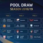 <b>Champions Cup 2018/2019 : Le Stade toulousain dans la poule des Wasps, Bath et du Leinster !</b>