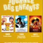 <b>Ce dimanche, c'est la Journée des Enfants aux cinémas Gaumont de Toulouse !</b>