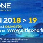 <b>Saison 2018 &gt; 2019 d&#039;Altigone : la billetterie est ouverte !</b>