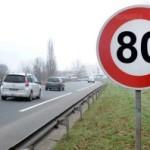 <b>La limitation à 80 km/h au lieu de 90 km/h est entrée en vigueur ce dimanche</b>