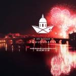 <b>Pour voir le feu d'artifice «au pied» du spectacle avec les Bateaux toulousains :  http://bit.ly/2...</b>