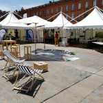 <b>Ça y est , on ouvre ! #soleil, #chaiselongue...Venez vous informer sur ce que fait #UE pr la #scienc...</b>