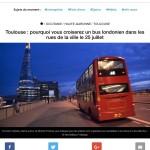 <b>CALLING TOUS LES TOULOUSAINS ! Après Nantes, La Rochelle &amp; Bordeaux, notre bus londonien fera sa...</b>