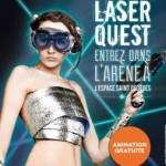 <b>3 jours de Laser Quest à l'Espace Saint Georges de Toulouse !</b>