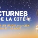 <b>Les Nocturnes de la Cité de l'espace à partir du 19 juillet !</b>