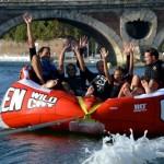 <b>Des activités pour une petite montée d&#039;adrénaline à #Toulouse : glisser sur la Garonne tirés pa...</b>