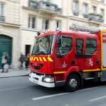 <b>L'autoroute A9 coupée dans les deux sens après un feu de poids lourd près de Perpignan</b>